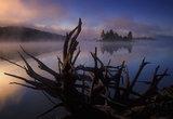 Island in the Fog print