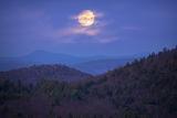 Moonrise over the Quabbin print