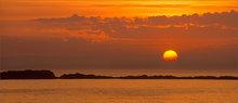 Acadia national park, Maine, sunrise, orange
