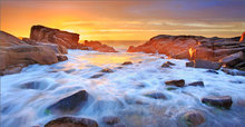 Biddeford pool, Maine, ocean, sunrise