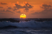 sunrise, ocean, waves, florida, patrickzephyr