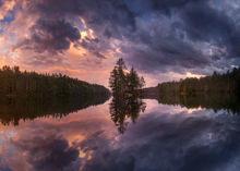 reflections, Quabbin Reservoir, Massachusetts, nature photography, landscape photography, Patrick Zephyr, isalnd