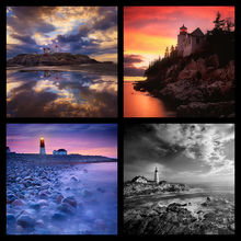 Lighthouses Coaster Set