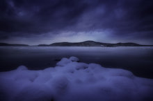 snow, winter, marshmallows, quabbin reservoir, Massachusetts, storm