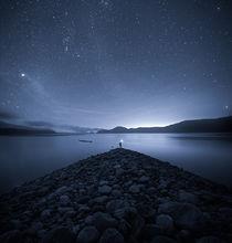night, quabbin, blue, stars, wanderlust, rocks, patrick zephyr