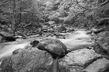 Dunbar brook, Monroe, Massachusetts, stream,