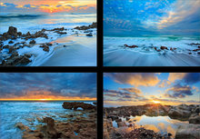 Oceanscapes (4 images)