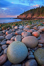 Acadia national park, Maine, otter cliffs, rocks, sunrsie