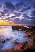 florida, sunrise, anastasia limestone, coral cove state park,
