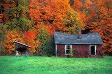 Sunderland, Massachusetts, autumn