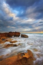 florida, coral cove, ocean, waves, sunrise