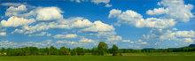 Summer, clouds, Hadley, Massachusetts,