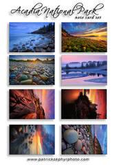 Acadia National Park Set