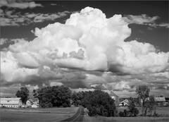 Hadley, clouds, Massachusetts,