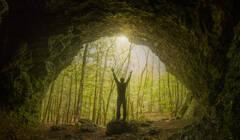 cave, Massachusetts, Sunderland, sunrise, awake, Patrick Zephyr, New England landscape photography