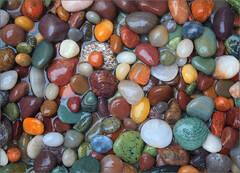 Rocks, colored