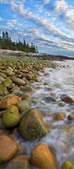 Schoodic peninsula, Maine, sunrise,  Acadia national park,