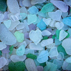 Sea Glass Puzzles