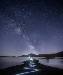 milkyway, Massachusetts, Patrick Zephyr, night astrophotography, stars, light trails