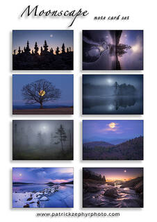 NOTE CARD SETS (8 different images/set)