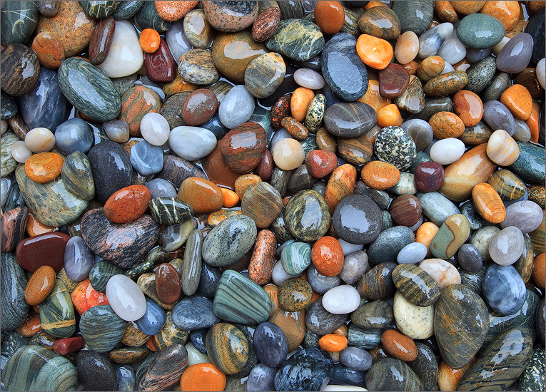 Rocks, colored, New Hampshire, ocean rocks, photo