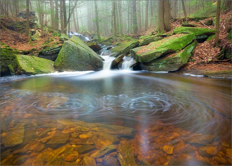 Stream, amethyst brook, Pelham, Massachusetts,, photo