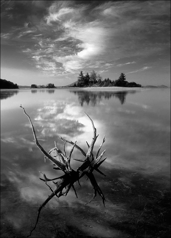 Island, sunrise, quabbin reservoir, Massachusetts, lake, photo