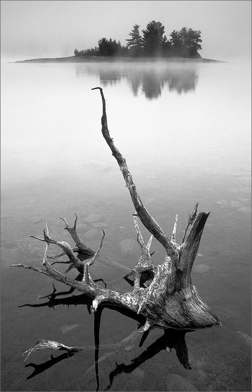Island, sunrise, quabbin reservoir, Massachusetts, lake