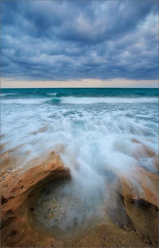 florida, coral cove, ocean, waves, sunrise, photo
