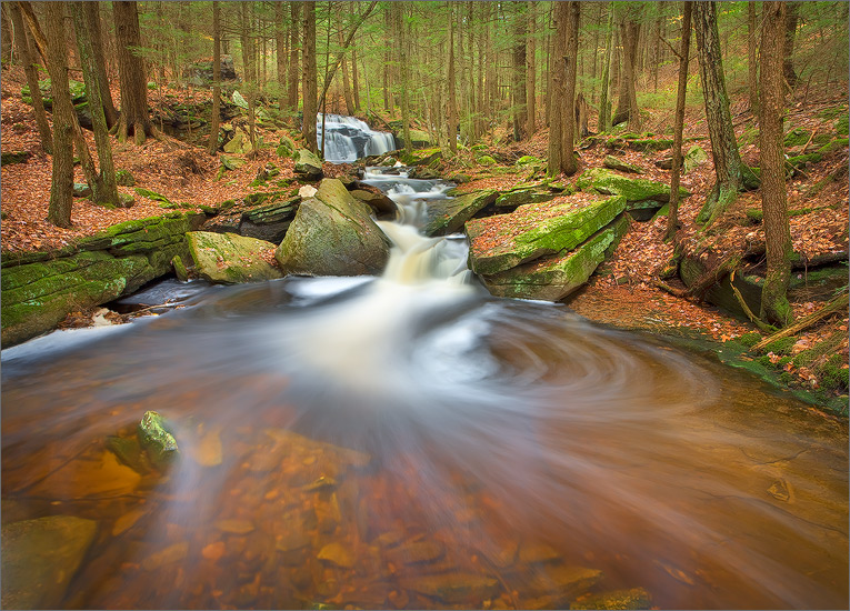 Stream, amethyst brook, Pelham, Massachusetts,