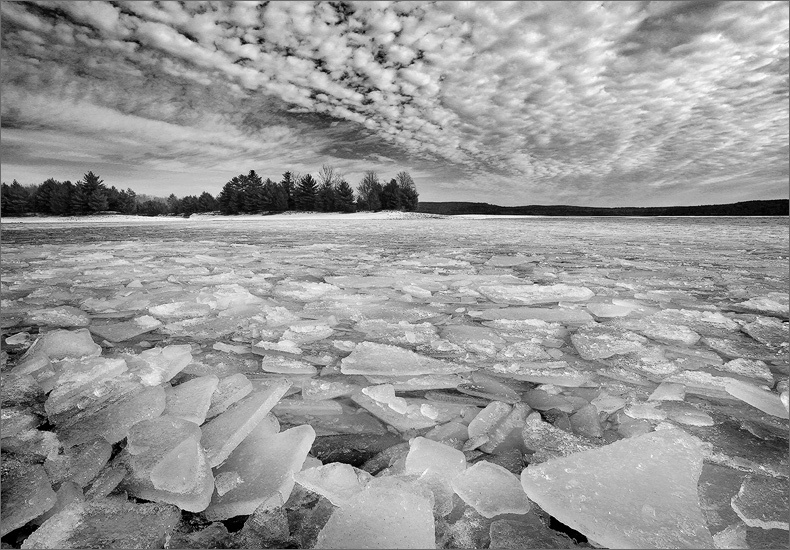 Ice, winter, quabbin reservoir, Massachusetts, , photo