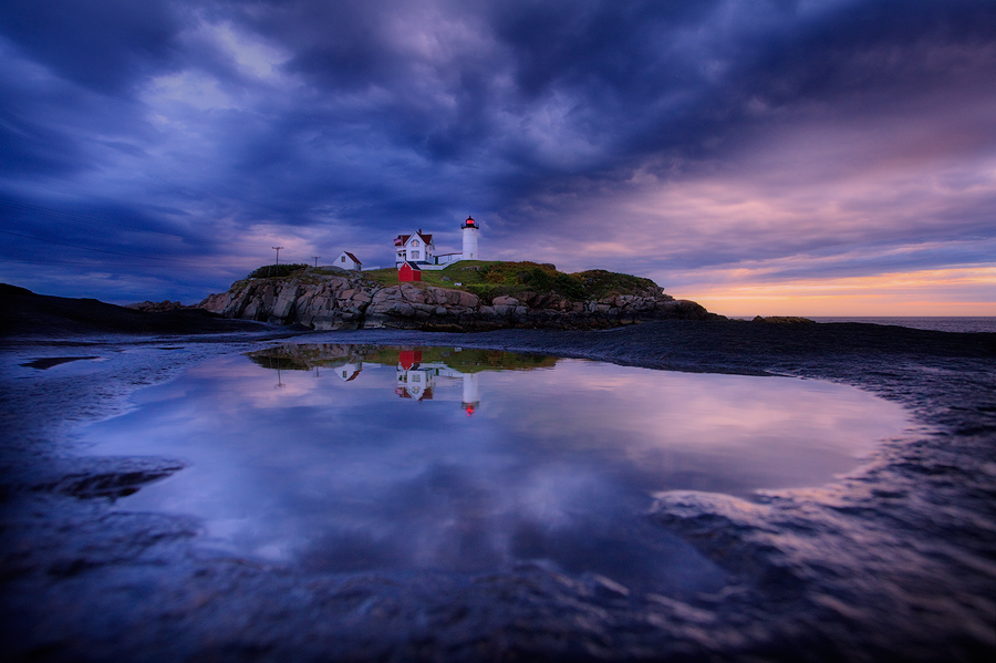 This was my first visit to nubble light and I got lucky with a very special sunrise. I struggled to find some good comps in the...