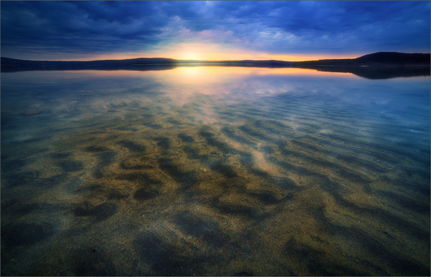 I have been to the this particular shoreline of the quabbin over a hundred times and have never seen the sand below the surface...