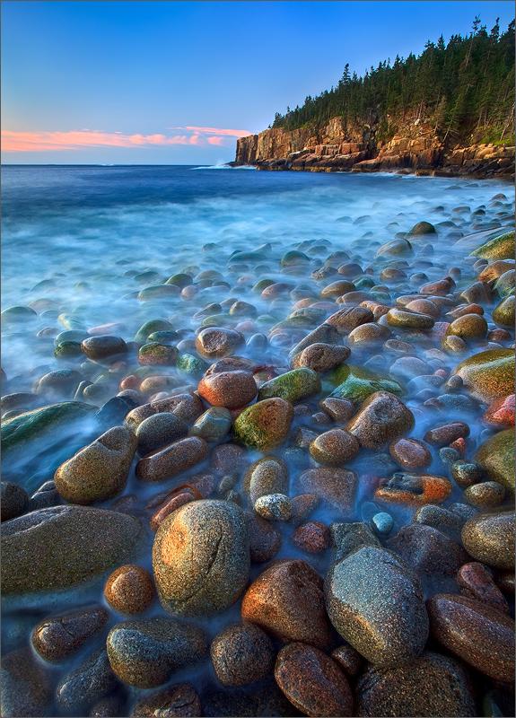 Acadia national park, Maine, otter cliffs, rocks, , photo