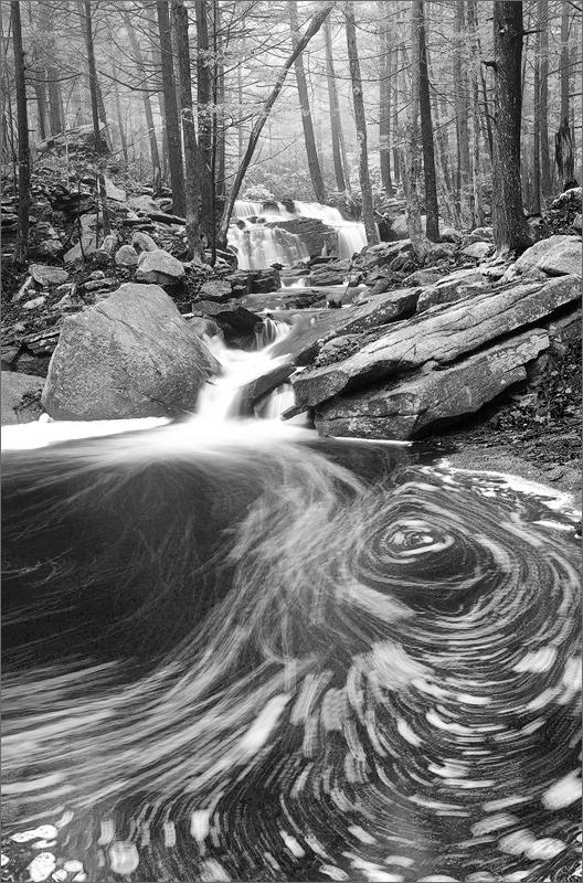 Amethyst brook, Pelham, Massachusetts, stream