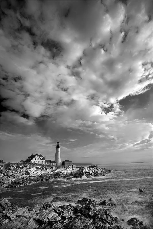 Portland head light, cape Elizabeth, Maine, lighthouse