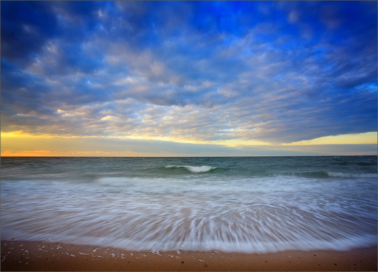 herring cove, cape cod, Massachusetts, ocean, sunrise, wave, photo