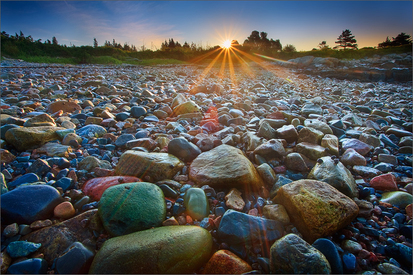 Schoodic Peninsula, Maine, Acadia National Park, rocks, dawn, sunrise, photo