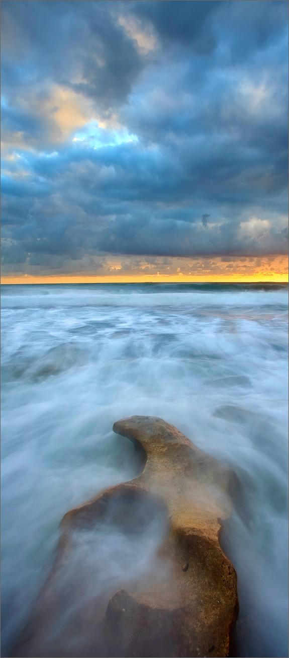 Florida, ocean, sunrise, coral cove,