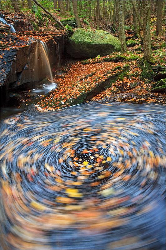 Stream, amethyst brook, Pelham, Massachusetts, autumn