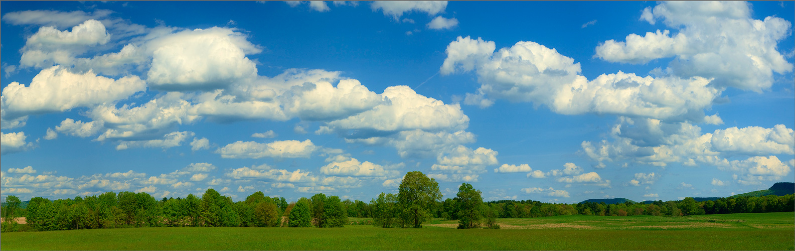 Summer, clouds, Hadley, Massachusetts, , photo