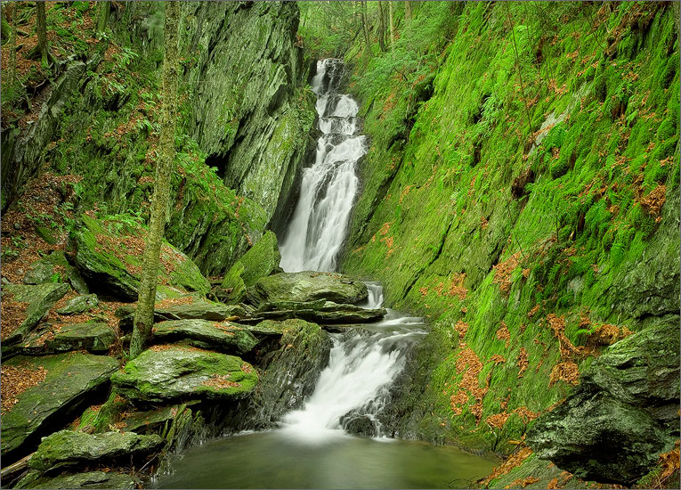 Tannery falls, savoy state forest, Massachusetts,, photo