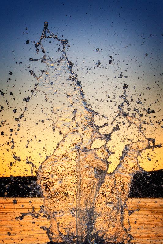 water, frozen, sculpture, fast shutterspeed, massachusetts, photo